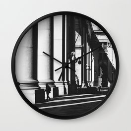 Leading Lines | NYC Soho Street Photography Wall Clock