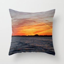 Changes on the Caloosahatchee II Throw Pillow