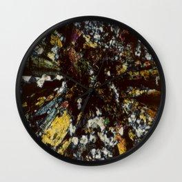 Epidote Wall Clock