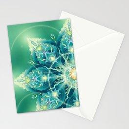 Mandala , sacred plant Stationery Cards