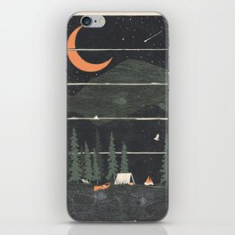 Wish I Was Camping... iPhone Skin