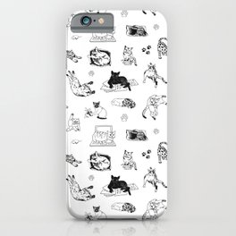 Cat Things iPhone Case