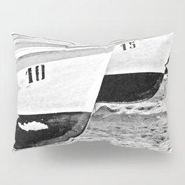 Boats in Positano Pillow Sham