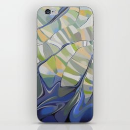 The earth seen from the space iPhone Skin
