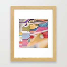 Meloncolor Two Framed Art Print