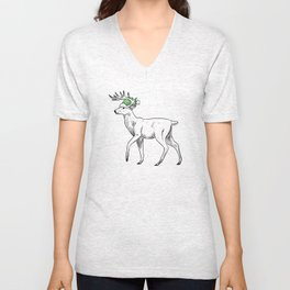 After My Coffee I'm a Star-Buck Unisex V-Neck
