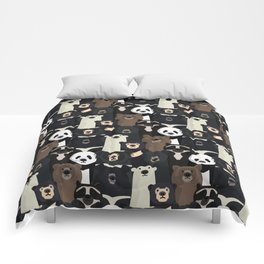 Bears of the world pattern Comforters