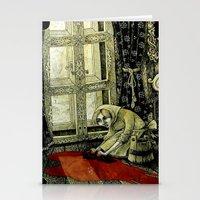 cinderella Stationery Cards featuring Cinderella by Sylwia Telari