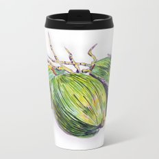 Island life coconut Metal Travel Mug