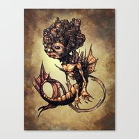 seahorse Canvas Prints featuring SEAHORSE by Tim Shumate