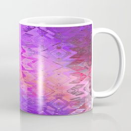 Edged Momentum (magenta) Coffee Mug