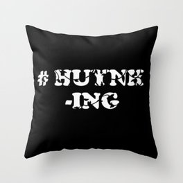 #Huynh-ing (Inverted) Scattered Leaves Throw Pillow