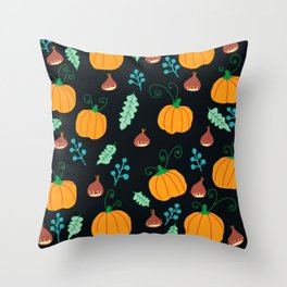 Chestnuts and pumpkins - n.2 Throw Pillow