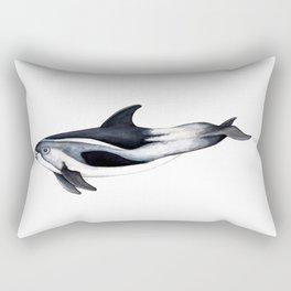 White-beaked Dolphin Rectangular Pillow