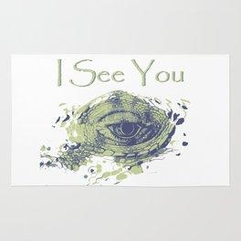 i see you - ayes Rug