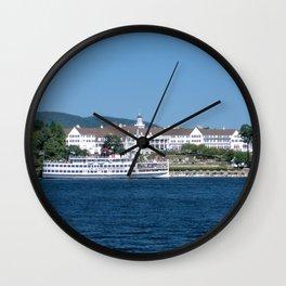 The Sagamore Hotel & Lac du Saint Sacrement Steamboat Wall Clock