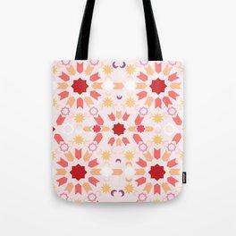 Summer Arabesque Tote Bag
