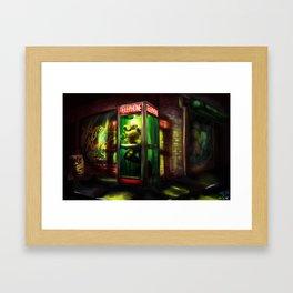 Loveland Frog Framed Art Print