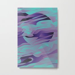 Nightly Mirage Metal Print