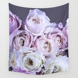 Bouquet Lilac Roses Wall Tapestry