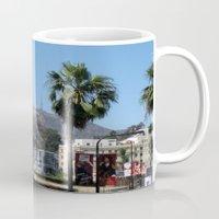 hollywood Mugs featuring Hollywood by Elizabeth Tompkins
