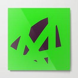 Green bandit Metal Print