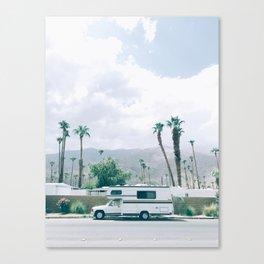 California Camper Canvas Print