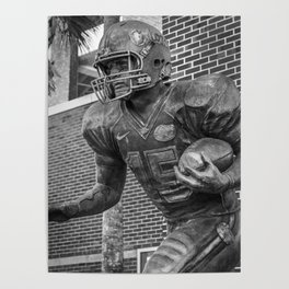Tim Tebow Statue Print Poster