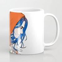nietzsche Mugs featuring Clementine's Heart by castlepöp