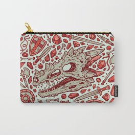 Hoard of the Gem Dragon   Ruby Carry-All Pouch