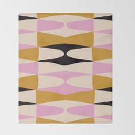 Zaha Dama Throw Blanket
