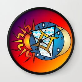 astrology,Gemini, Wall Clock
