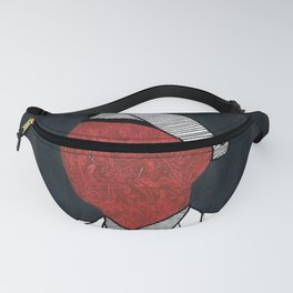 Scarlet Soldier Fanny Pack