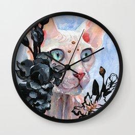 Gladioulus Wall Clock