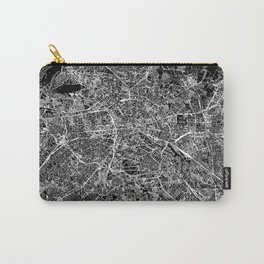 Berlin Black Map Carry-All Pouch