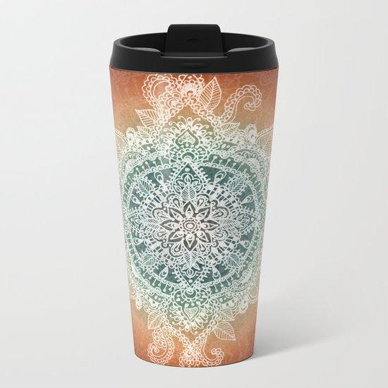 Burning With Desire Metal Travel Mug