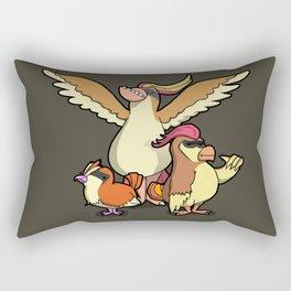 Pokémon - Number 16, 17 & 18 Rectangular Pillow