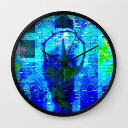 No Way No How < The NO Series (Blue) Wall Clock