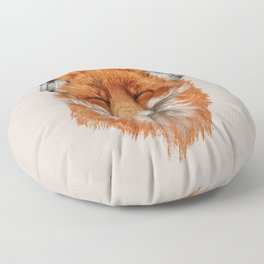 The Musical Fox Floor Pillow