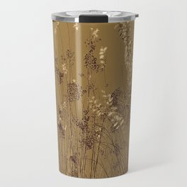 Thin Branches Sepia Travel Mug