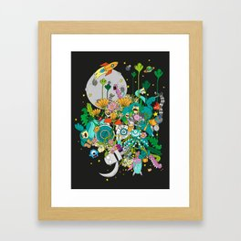 Imaginary Land Framed Art Print