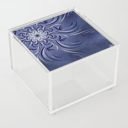 Lavender Flourish Acrylic Box