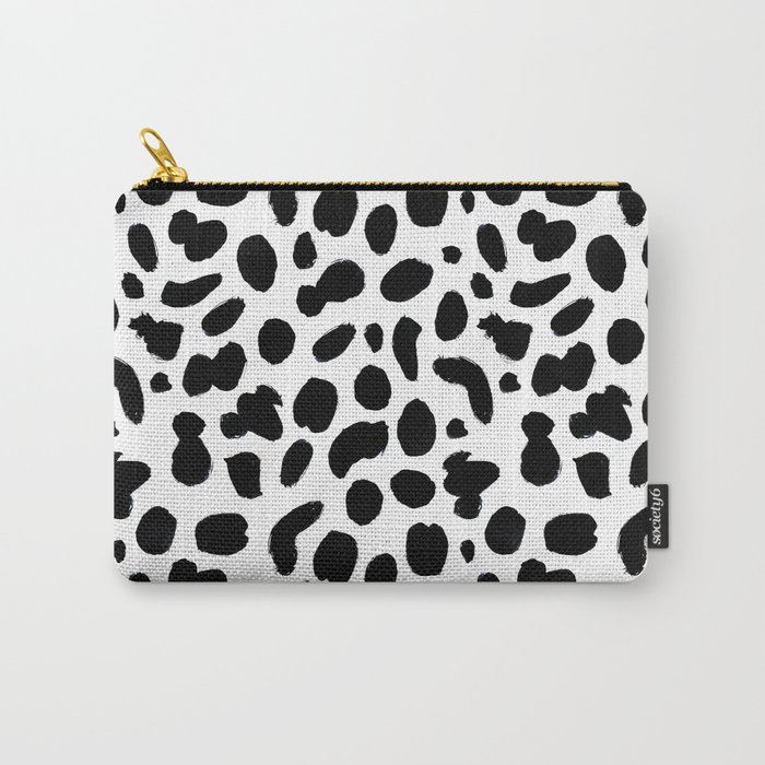 Dalmatian ink pattern Carry-All Pouch