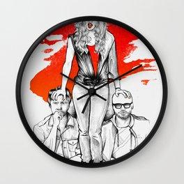 Sunny Days Wall Clock