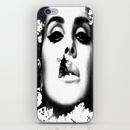 Watercolour effect print  iPhone Skin
