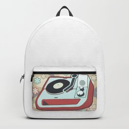 Retro Vinyl Backpack