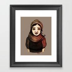 Desert Girl II Framed Art Print