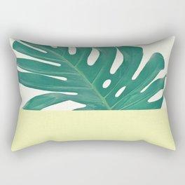Monstera Dip II Rectangular Pillow
