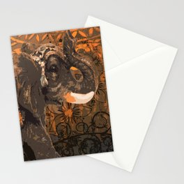 Little Indian Elephant Stationery Cards