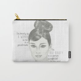 The True Beauty of a Woman Carry-All Pouch